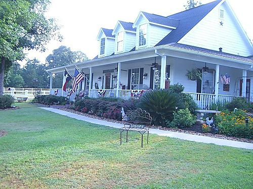 Kathy's home in Magnolia, Texas...