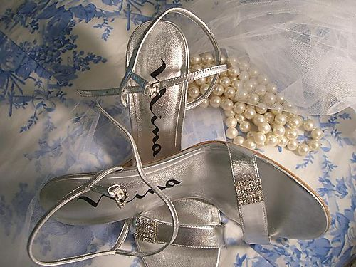 Mika's bridal shoes..