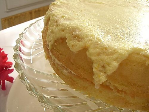 Old fashion icing orange layer cake 009