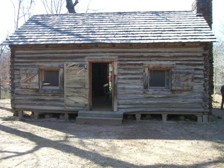 Little log cabin...