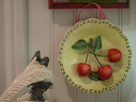 Sweet cherry plate...