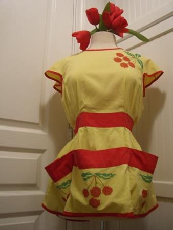 Cherry apron...