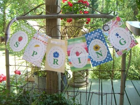 Spring banner...
