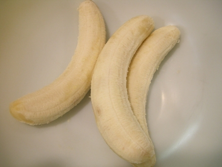 Ripe bananas...