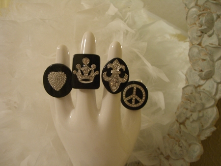 Black rings...