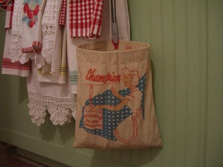 A Vintage Clothes Pin Bag