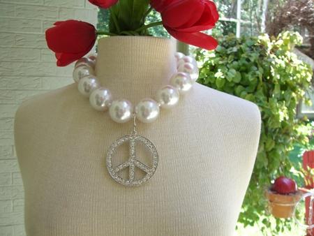Peace necklace...