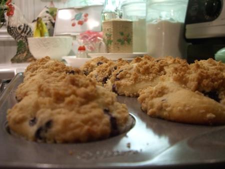 Warm little muffins...