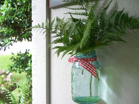 Fresh ferns...