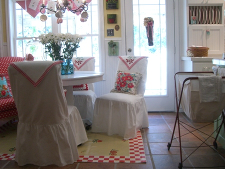 Cottage floorcloth