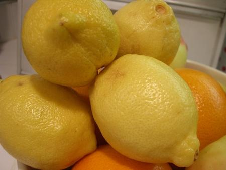 3 lemons...