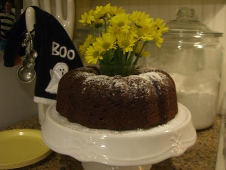 Chocolate Chip Cake...
