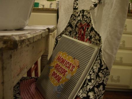 Monica's cookbook...