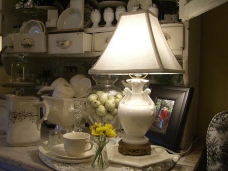 Pretty lamp...