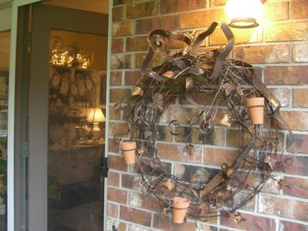 Cute wreath...