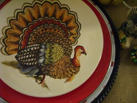 Turkey plate...