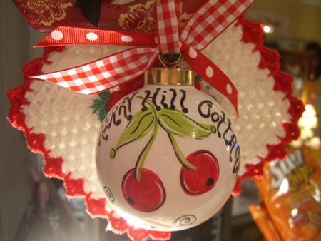 Cherry Hill Cottage ornament...
