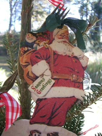 Santa topper...