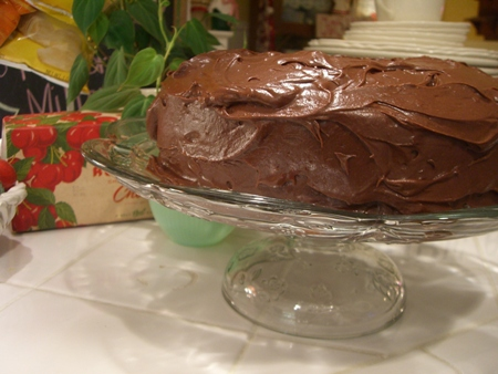 Perfectly Chocolate Chocolate Frosting...