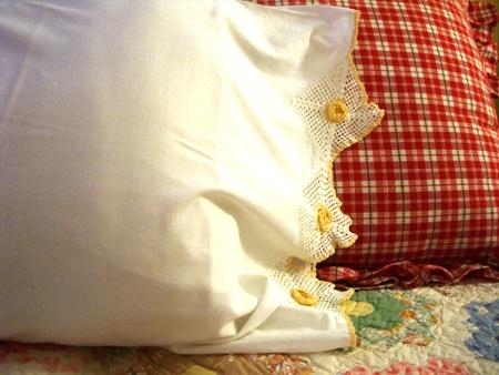 Fresh linens...