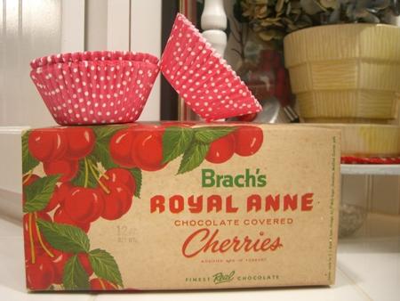 Cherry cupcakes...