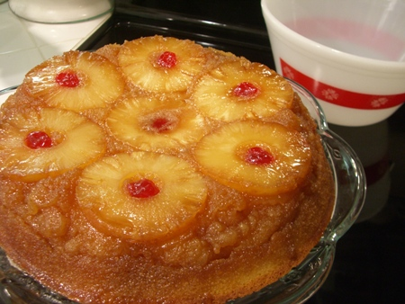 Pineapple Express Upside Down Cake Recipe — Dishmaps
