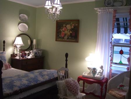 Blue room...
