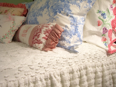 Bed linens...