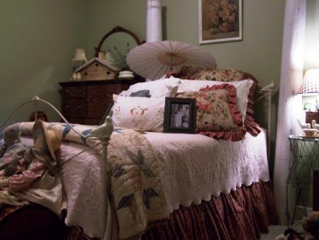 Sweet little bed...