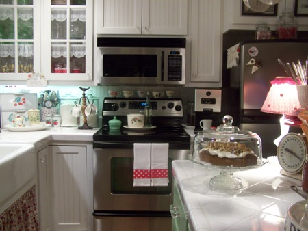 Clean kitchen...