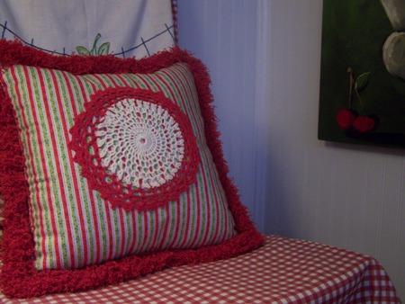 Christmas pillow...