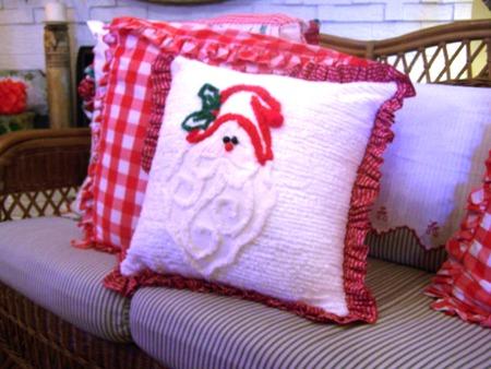 Santa pillow...