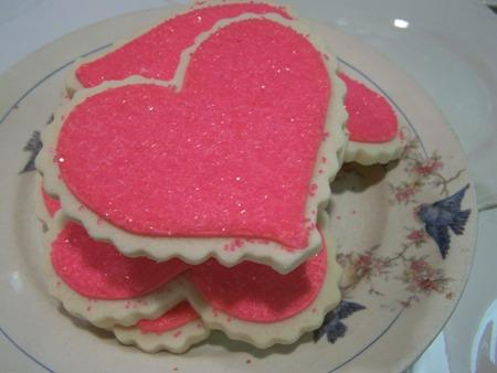 Pink heart...