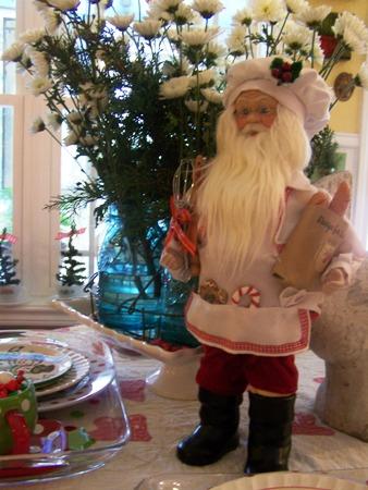 Chef Santa...