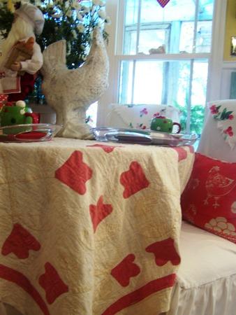Vintage tablecloth...
