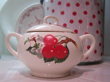 Sugar bowl...