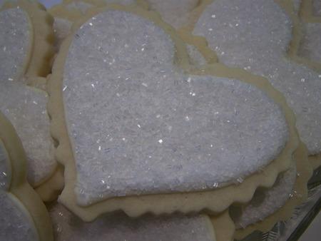 Big heart cookie...