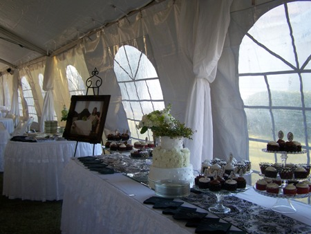 Brides table...
