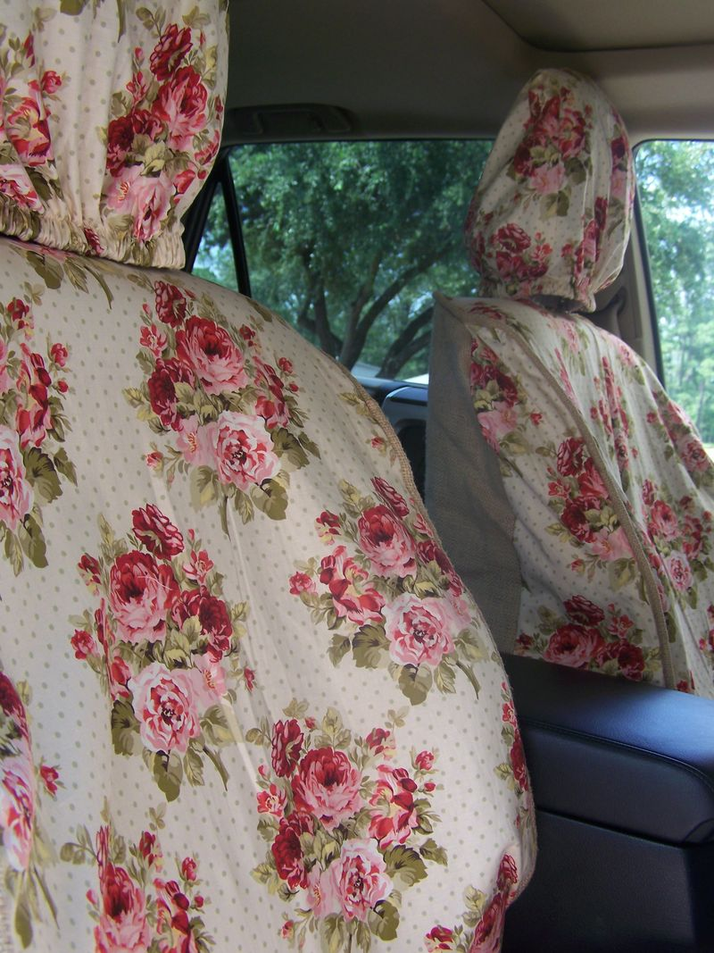 Cherry Hill Cottage Monicas Car Slipcovers