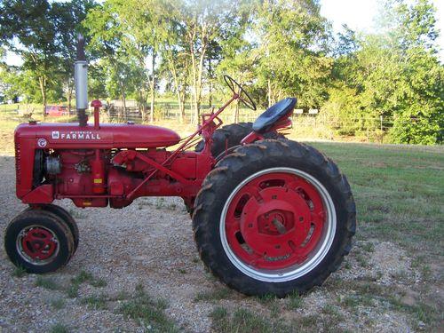 Vintage tractor...