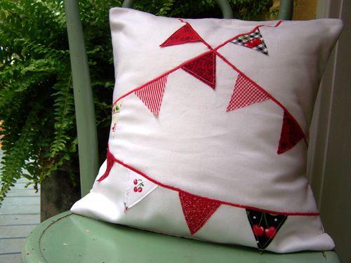 Banner pillow...