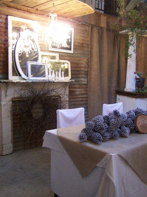 Bride-groom table-space