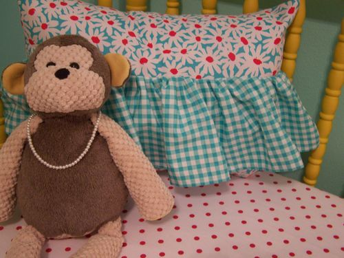 Monkey and pillow...
