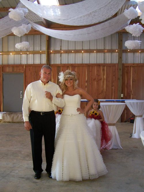 Bride Jessica and Daddy Mark