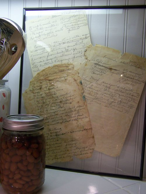 Vintage recipes...