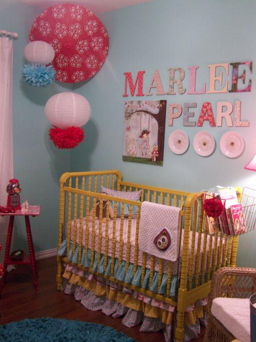 Marlee Pearl's nursery...
