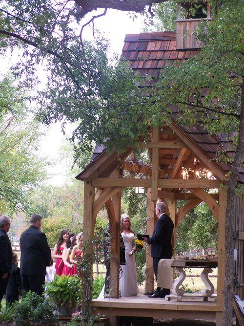 Dustin and Hannah's wedding...