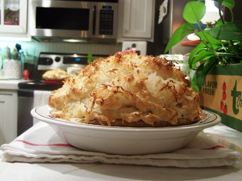 Coconut pie...