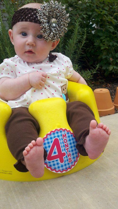 Marlee's Pearl is 4 months!!