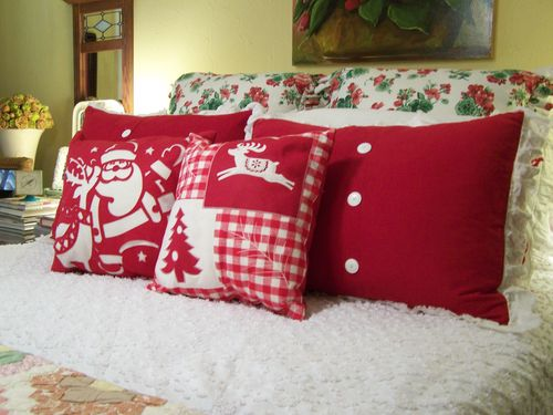 Christmas Pillows 2012